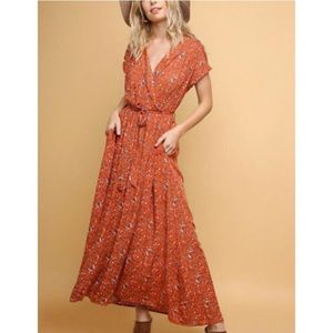 Umgee Wrap Dress size Large